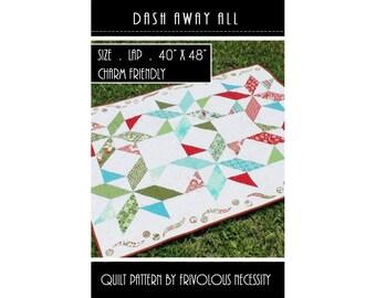 Quilt Pattern PDF Dash Away All -- Charm Friendly
