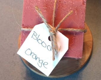 Blood Orange - Handmade Soap - Natural Soap - Essential Oil Soap - Cold Process Soap