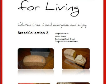 Bread Collection 2 (no gluten, no dairy, no gum, bread)