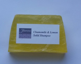 Natural Eco-Friendly Handmade Soild Shampoo Tea Tree and Peppermint/Chamomile and Lemon