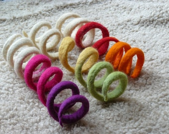 Felted cat  toy/ Felted  Toy Snake