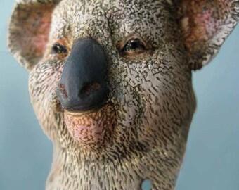 Custom Koala Anthro Art Doll Bust