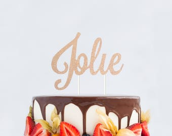 Custom Name Cake Topper, Personalized Name Cake Topper, Customized Cake Topper, Name Cake Topper, Baby Shower Name Topper, Baby Name Topper