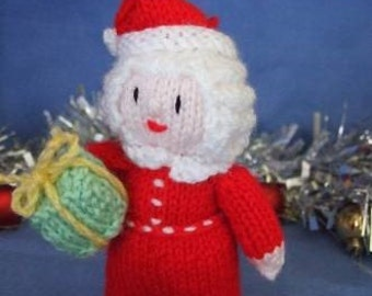 Mrs Santa Christmas Toy