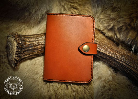 Leather Passport Cover - Classic English Bridle Leather