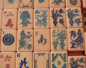 5 Bakelite 1930s Mah Jong Tiles Of My Choice