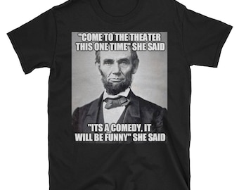 Funny Hipster Abraham Lincoln T Shirt