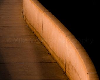 Light and Seawall