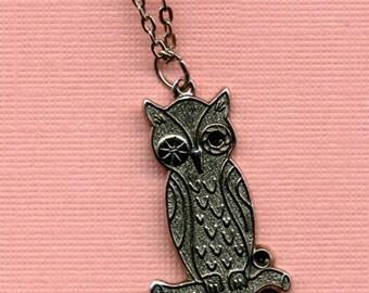 Sassy Owl Necklace