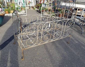 Ornate antique crib