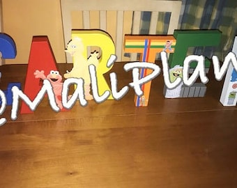 Sesame Street Personalized Name