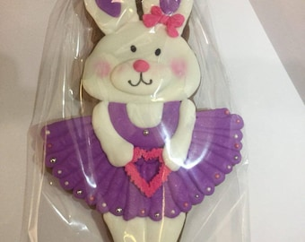 COOKIES rabbit ballet dancer | rabbit dancer | rabbit in a dress | Easter bunny
