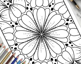 Printable Colouring Page Playful