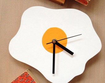 Fried Egg Wall Clock