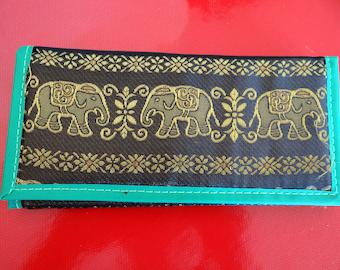 Porte-feuille éléphants de Bimanie