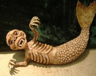 Feejee fiji Mermaid Sideshow gaff freak