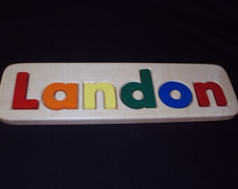 Children's Personalized Name Puzzle