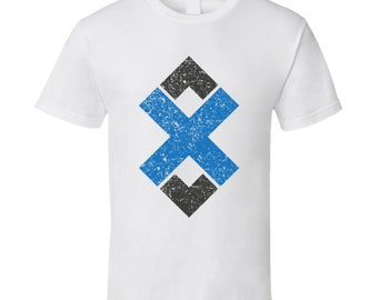 Adex Adx Distressed E-currency Online Shopping Fan T Shirt