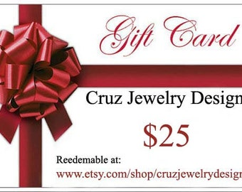 Jewelry Gift Card