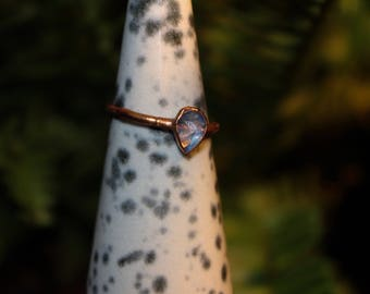 Moonstone Electroformed Ring All Sizes