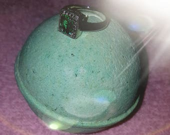 Gardenia Bath Bomb and Ring!