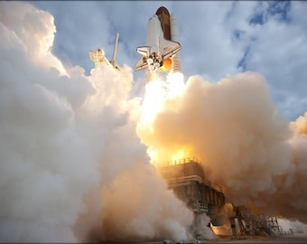 Poster, Many Sizes Available; Space Shuttle Endeavour Sts-134