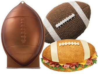 Football 12'X7.75'X3' Cake Pan -Wilton