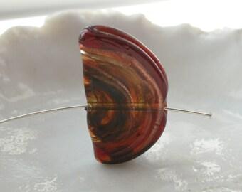 Hard To Find Venetian Murano Glass Bead, 29mm x 14mm