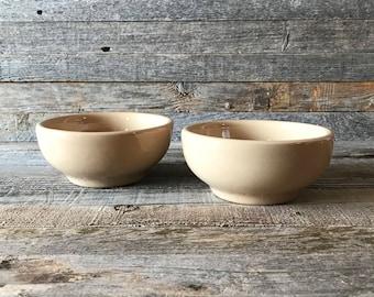 Vintage Tepco Restaurant Ware Bowls, Tepco Sunglow