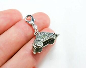 VW Beetle Car Charm. Vollkswagon Bug Car Charm. Car Charm. New Driver Charm. SCC294