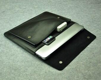 Black Leather New Macbook Pro Case New Macbook Pro 13 Case New Macbook Pro 15 Case New Macbook Pro13 Sleeve New Macbook Pro13 Keyboard Cover