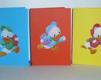 Set of five patterns Huey, Dewey, Louie pack 1