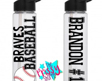 Team Water Bottles/ Team Gifts/Water Bottle/Baseball/Basketball/Soccer/Football Bottles