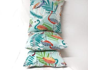 3 Pack of Flamingo Capri Pillow Water Resistant