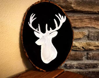 Chalkboard Deer Decor