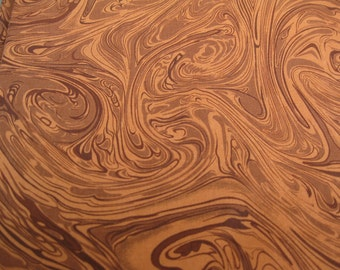 100 percent cotton, marbled, fabric, brown/by the yard