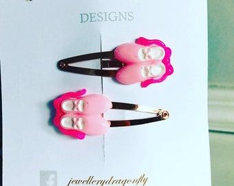 Darcie Ballet Hair Snaps / Ballet Hair / Kids Hair Snaps / Ballet Hair Snaps / Gifts for Girls / Gift Ideas