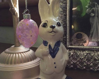 ceramic suited rabbit