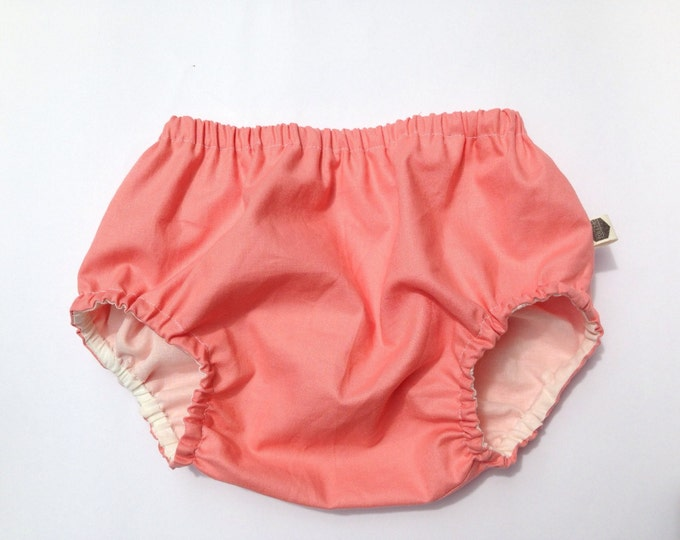 COTTON ROSA BLOOMERS - Diaper cover / Nappy cover Constructed from cotton