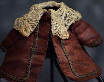 Antique Maroon doll coat