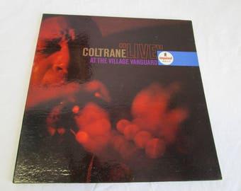"John Coltrane / ""LIVE"" at the Village Vanguard / Gatefold / Vinyl LP / Impulse / Mono A-10"