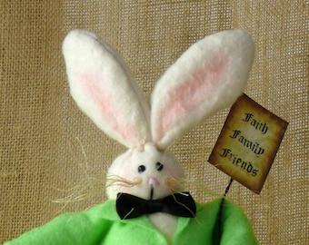 Trouwe vrienden Easter Bunny Rabbit voorjaar decoratie