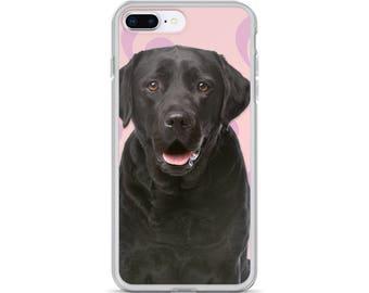 iPhone X Case, iPhone 6/6S, iPhone 7/7+ Cases ,Case iPhone 8/8+ Case, cute dog, labrador print