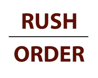 RUSH ORDER ONLY, Wedding dress hangers, tumblers, wine glasses, mason jars, champagne flutes