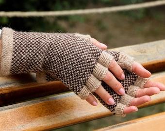 Unique fingerless gloves women car accessories gift for photographer gift custom gloves warm gloves knit wool gloves touch screen gloves men