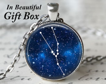 Zodiac Jewelry • Tarus Star Sign • Tarus Necklace • Constellation Necklace • Astrology Jewelry • Birthday Necklace • Tarus Zodiac • Stars