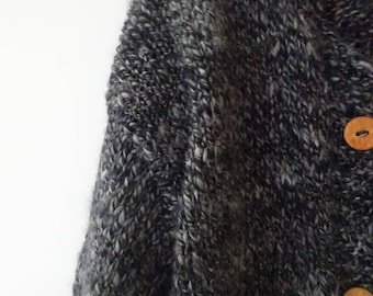 Cardigan grey; chunky cardigan; sluchy cardigan; cardigan grey;