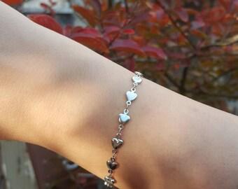 Hearts Bracelet Gift IDEA