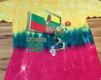 Vintage Grateful Dead T Shirt- Lithuania Basketball
