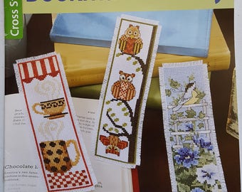 Bookmark Medley Counted Cross Stitch Instruction Booklet